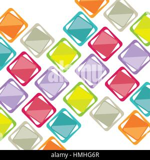 Background of varied colors vector illustration design - Stock Photo