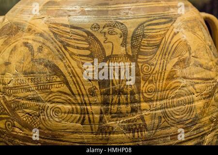 Enocoe, museo arqueologico y de historia de Elche Alejandro Ramos Folqués, Elche, Alicante, comunidad Valenciana, - Stock Photo