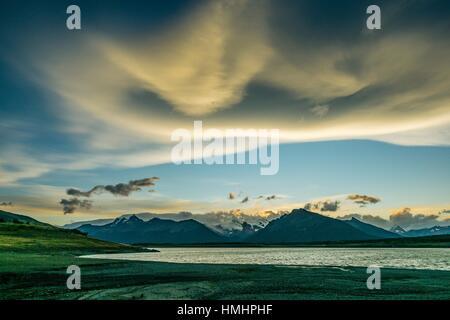 Lago Roca, El Calafate ,Parque Nacional Los Glaciares republica Argentina,Patagonia, cono sur, South America. - Stock Photo