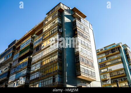 Modern Architecture Europe modern architecture in cacilhas, portugal, europe stock photo