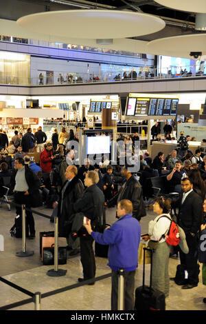 Terminal5 Heathrow - Stock Photo