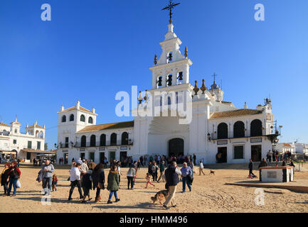 Spain, Andalusia, El Rocio pilgrimage (Pentecost Stock Photo, Royalty Free Im...