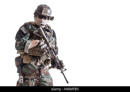 Marine Special Operator - Stock Photo