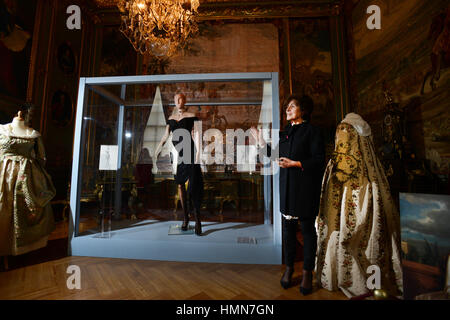 Oxfordshire, UK .10th Feb, 2017. 'A Passion for Fashion' Exhibition at Blenheim Palace. 300 years of style displayed - Stock Photo