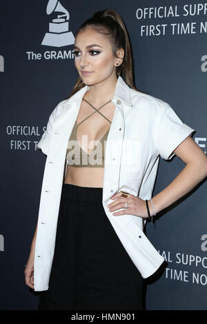 Los Angeles, Ca, USA. 9th Feb, 2017. Daya at the Delta Airlines 2017 Grammy Celebration at Beauty & Essex in Los - Stock Photo