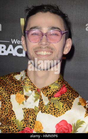 Los Angeles, California, USA. 9th Feb, 2017. Max at Westwood One Backstage at the 2017 Grammy's Day 1 at the Staple's - Stock Photo