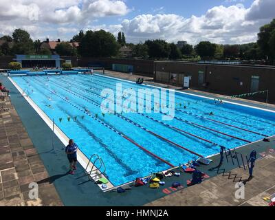 Charlton Lido In Hornfair Park Charlton London Stock Photo Royalty Free Image 17124641 Alamy