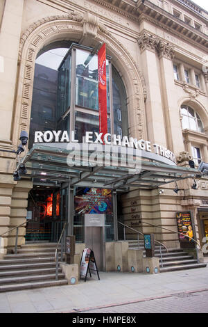 Royal Exchange Manchester - Stock Photo
