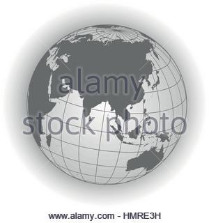 australia russia africa north pole earth globe worldmap asia map
