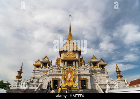 Tempel des Goldenen Buddha Wat Traimit,  Bangkok, Thailand, Asien  |   The Golden Buddha Temple Wat Traimit, Bangkok, - Stock Photo