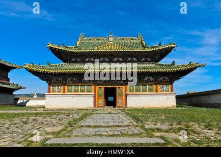 Eastern Zuu temple, Erdene Zuu monastery, Kharkhorin, Övörkhangai Aimag, Mongolia - Stock Photo