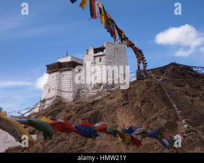 Namgyal Tsemo gompa, Leh, Ladakh Stock Photo