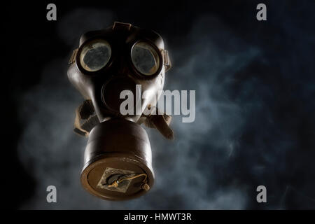 World War II Gas Mask - Stock Photo