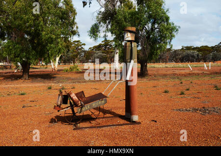 The Wheatbelt Western Australia - Stock Photo