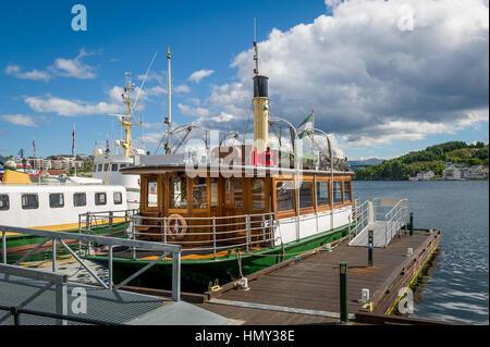 Kristiansund harbor, Norway. - Stock Photo