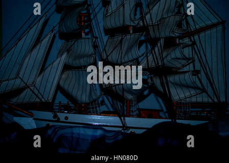 #Ship in the storm - Stock Photo