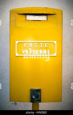 Vatican Post Office Box - Stock Photo