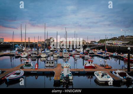 Wick harbour - Stock Photo