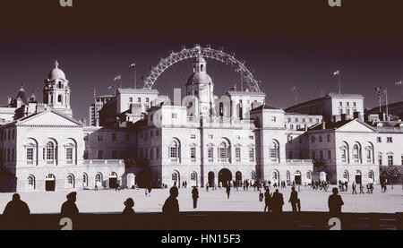 Horse Guards Parade, London, England, UK - Stock Photo
