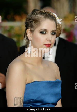 Peaches Geldof attends for the film, 'The Imaginarium of Doctor Parnassus' at the 62nd annual Cannes Film Festival - Stock Photo