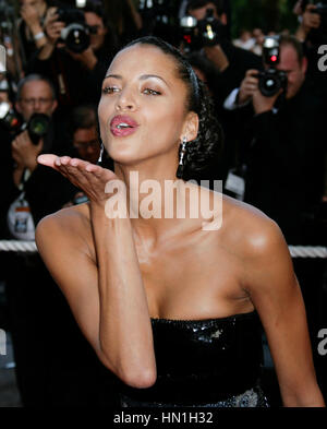 Noemie Lenoir attends for the film, 'The Imaginarium of Doctor Parnassus' at the 62nd annual Cannes Film Festival - Stock Photo