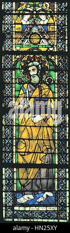 Maestro di San Francesco, ss bartolomeo e matteo, san matteo - Stock Photo