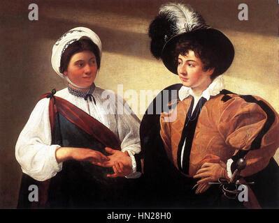 Michelangelo Merisi da Caravaggio - The Fortune Teller - WGA04091 - Stock Photo