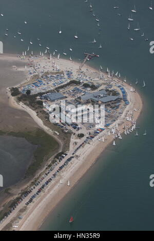 View from Hayling Island Stock Photo, Royalty Free Image ...