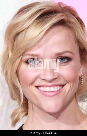 Los Angeles, USA. 07th Feb, 2017. Reese Witherspoon The Los Angeles Premiere for HBO Limited Series 'Big Little - Stock Photo