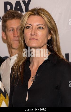 New York, NY, USA. 2nd Feb, 2017. Lia Vollack in attendance for GROUNDHOG DAY: THE MUSICAL on Broadway Sneak Peek, - Stock Photo