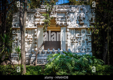 The National Museum of Anthropology (Spanish: Museo Nacional de Antropología, MNA) is a national museum of Mexico. - Stock Photo