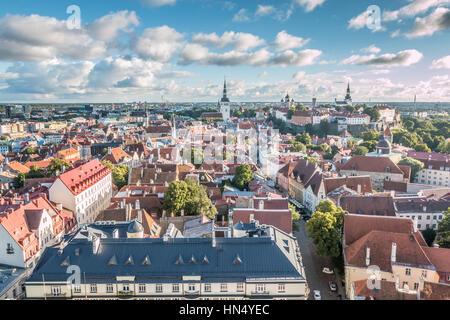 Tallinn Estonia - Stock Photo