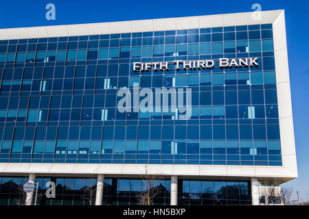 Indianapolis - Circa February 2017: Fifth Third Consumer Bank Branch. Fifth Third is a US regional banking corporation - Stock Photo