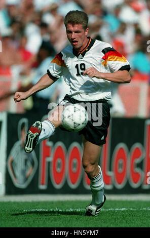 THOMAS STRUNZ GERMANY & VFB STUTTGART FC 29 June 1993 - Stock Photo