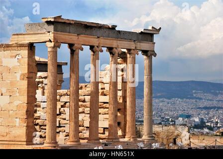 Acropolis in Athens, Greece - Stock Photo
