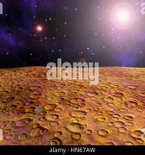 surface of the mars - Stock Photo