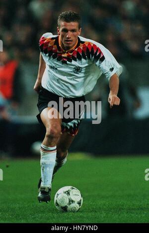 THOMAS STRUNZ GERMANY & VFB STUTTGART FC 30 March 1994 - Stock Photo