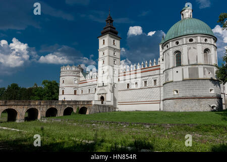 Castle in Krasiczyn. Zamek w Krasiczynie - Stock Photo