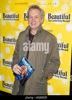 Aldwych, London, UK. 9th February, 2017. attending the Carole King Musial Birthday Gala, Aldwych Theatre, Aldwych, - Stock Photo