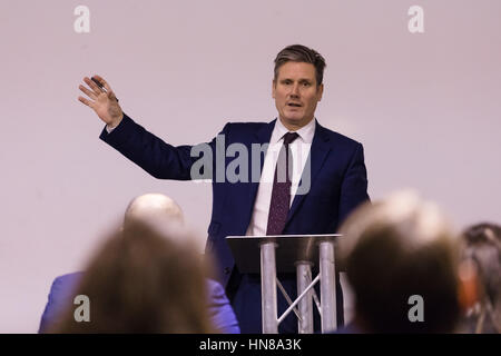 London, UK. 9th Feb 2017. Shadow Secretary of State for Exiting the European Union (Brexit), Sir Keir Starmer MP, - Stock Photo