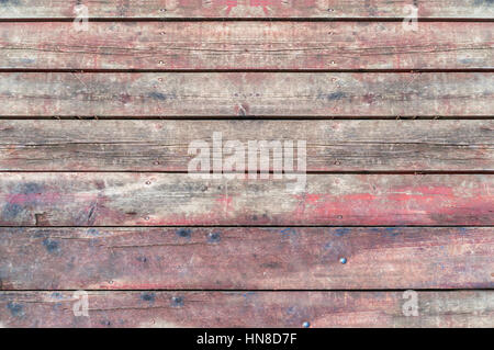 Rustic weathered barn wood texture close - Stock Photo
