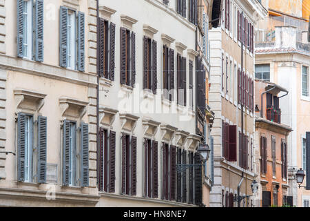 Modern Architecture Rome rome, italy. modern apartment buildings in via avignone in the