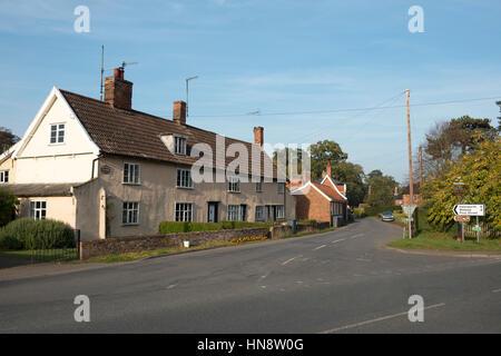 Peasenhall, Suffolk, UK - Stock Photo