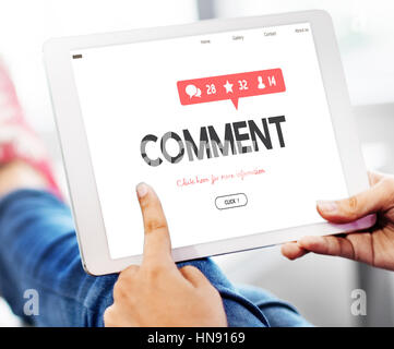 Survey Suggestion Opinion Review Feedback Concept - Stock Photo
