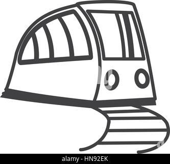 train related icon image, vector illustration design - Stock Photo