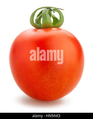 cherry tomatoes isolated - Stock Photo