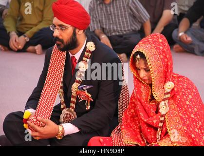 Sikh Wedding in Malaysia - Stock Photo