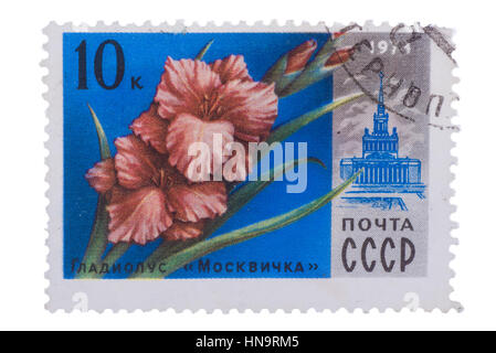 RUSSIA - CIRCA 1978: stamp printed in USSR CCCP, soviet union - Stock Photo