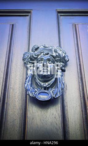 Attractive Front Door Knockers With Peephole #2: Former-victorian-door-detail-of-an-old-door-knocker-in-classic-detail-hna296.jpg