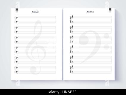 Doc718865 Music Paper Template iPadpapers music paper – Music Paper Template